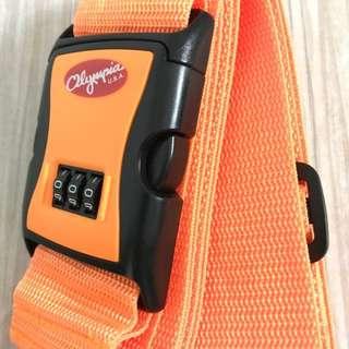 橙色行李帶