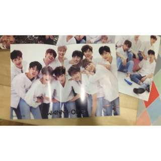 Wanna One Posters x3