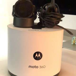Moto360智能手錶 80%new