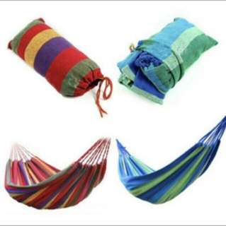 Outdoor travel leisure cotton C amping hammocks duyan