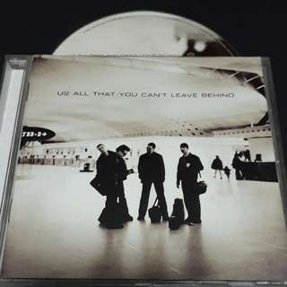 U2 (All that you can't leave behind) cd
