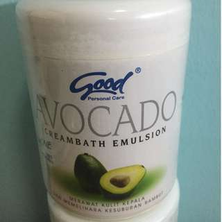 Free REG Mail - Good Creambath Emulsion - Avocado (3 in 1 + Vitamin)