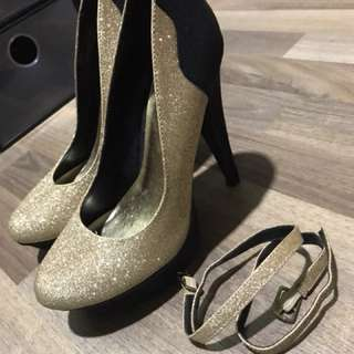 Michael Antonio Glitter Heels