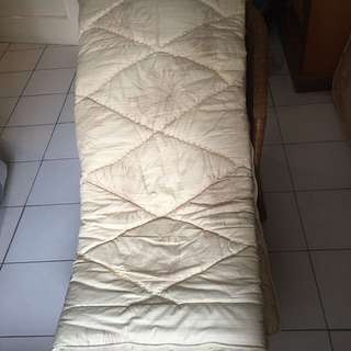 Bedcover + Sprei for Single Bed #CintaDiskon