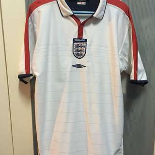 2003/2005 England Reversible Jersey