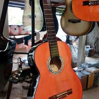 Gitar nilon akustik elektrik pasif