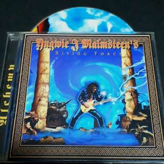 Yngwie Malmsteen (rising force) cd rock