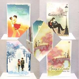 4 Series by Ilana Tan (Cover Lama)
