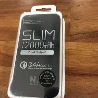 N.Brand Z Slim 12000mah PowerBank
