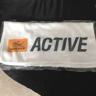Tiger balm micro fiber towel
