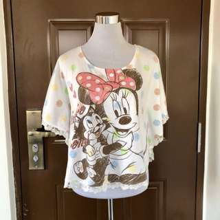 Disney Poncho Top
