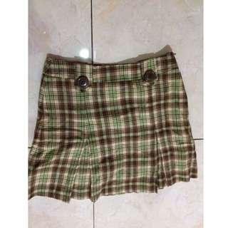 #cintadiskon Tartan Skirt