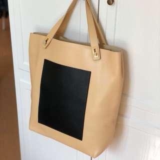 Balenciaga pocket tote bag (連塵袋)