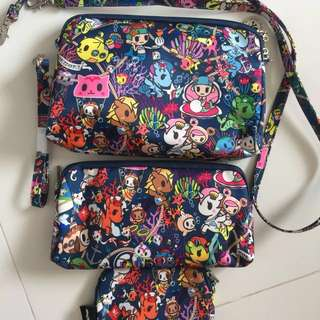 Brand New Without Tag Jujube Be Set Seapunk (Selling Separately) ju ju be jjb tokidoki Lularoe agnes and Dora mini helix