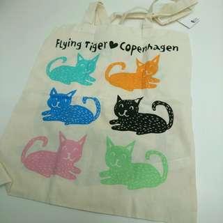 貓貓 tote bag