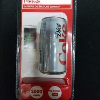 可口可樂外置充電器