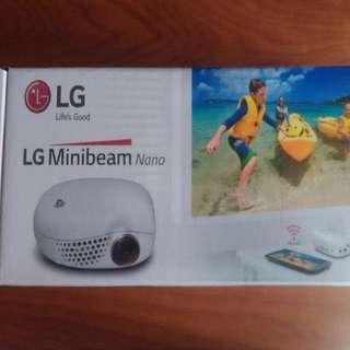 LG minibeam Nano (projector)