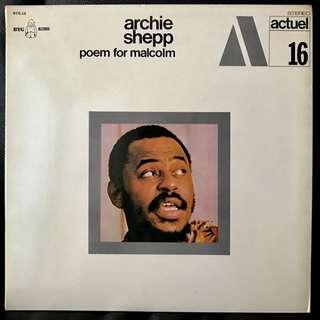 【Vinyl Recod】Archie Shepp - poem for malcom