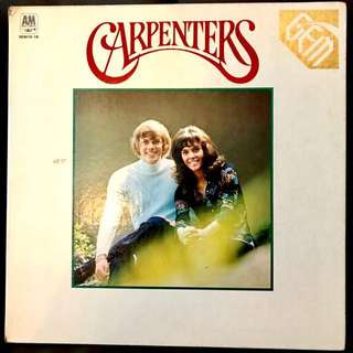 "Vinyl Record - CARPENTERS ""THE gem of carpenters"""