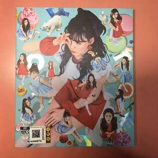 RED VELVET - ROOKIE (4th Mini Album) [WENDY ver.] CD+Yeri Photocard