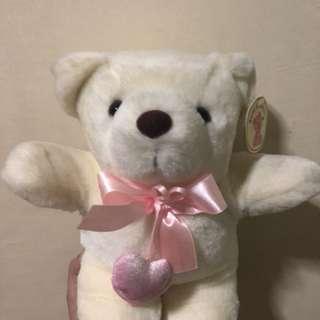 Bear cuddler stuffed toy