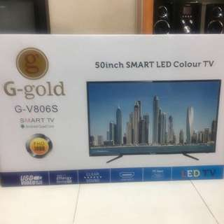 50 inch Smart LED Analog tv Brand new, in box
