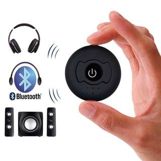 Baile Bluetooth 4.0 Wireless Audio Transmitter Multi-Point H-366T Support Two Bluetooth Headphones or Speaker Simultaneously for TV PC CD Player iPod MP3 MP4 (3.5mm Jack)--615