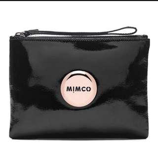 Mimco Black Patent Pouch