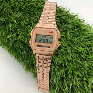 Casio ros gold RM45 with paper box
