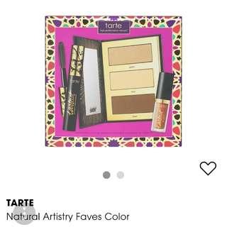 Tarte Natural artistry faves color set