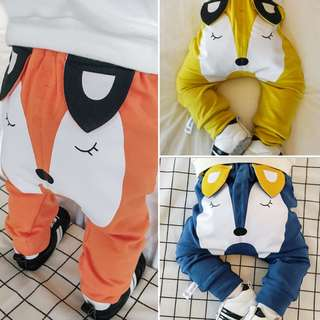 Fox Baby Pants