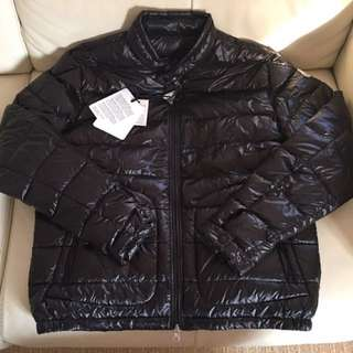 男裝 胸61-62cm 全新Moncler down black coat