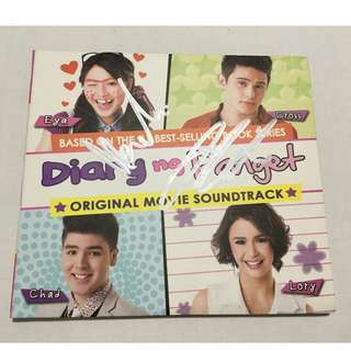 Diary ng Panget DNP movie album signed by JaDine