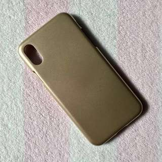 Gold iPhone X Case
