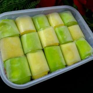 Pancake durian isi 15pcs