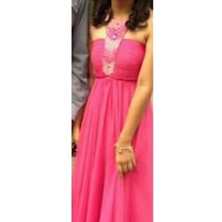 Pink Long Gown for JS prom, gradball etc.