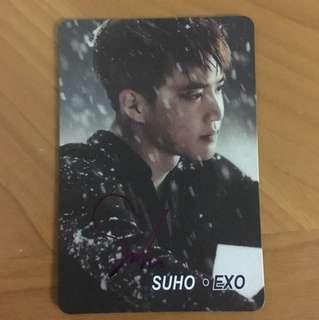 Yes card EXO SUHO卡