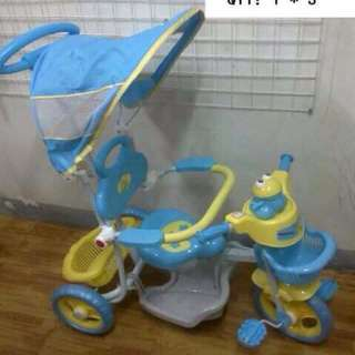 2 in 1 Baby Stroller/Bike with Handle