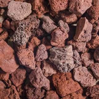 Volcano Rocks: Medium Size - 5 kg