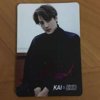 Yes card EXO KAI卡