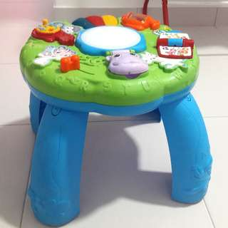 Leap Frog Animal Learning Intractive Table