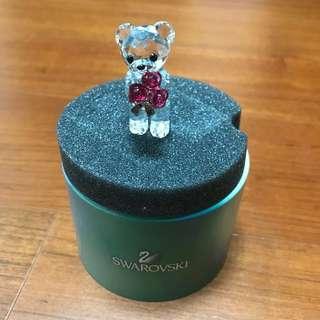 🚚 施華洛士奇玫瑰小熊