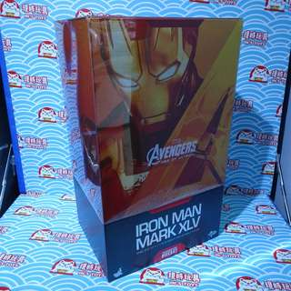 180213-02 中古已開封 HOTTOYS 1/6 12吋 復仇者聯盟2 AVENGERS AGE OF ULTRON DIECAST IRONMAN MARK XLV 45 MMS300 D11