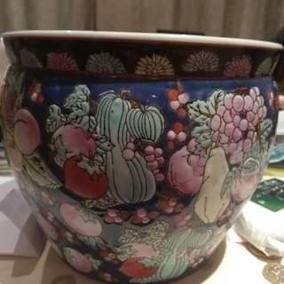 古董魚缸盆中國造在英国發現
