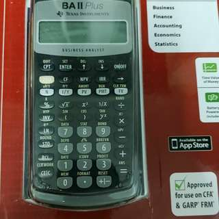 Baii plus financial calculator