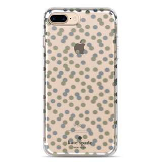 Kate Spade iPhone 7 Plus 8 Plus Glittery hard case