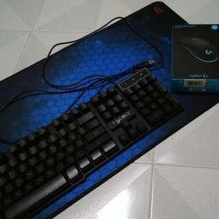 Gaming Bundle - Logitech G102 & membrane keyboard
