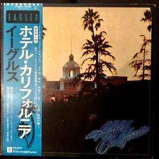 【Vinyl Record】 Hotel California - Eagles with an OBI