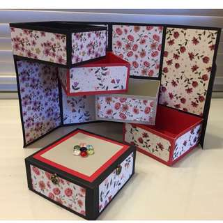 Handcrafted Tower Gift Box