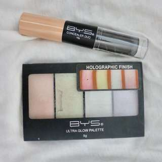 BYS highlighter +concealer